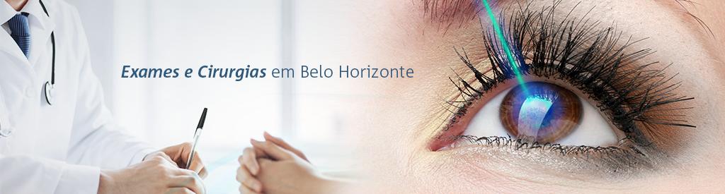 6fbde38aa Exames e Cirurgias na Clinica de Olhos em Belo Horizonte